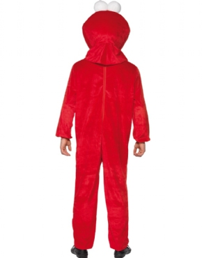 Adult Sesame Street Elmo Costume - Side View