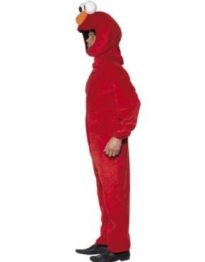 Adult Sesame Street Elmo Costume - Back View