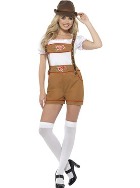 Sexy Bavarian Beer Girl Costume Couples Costume