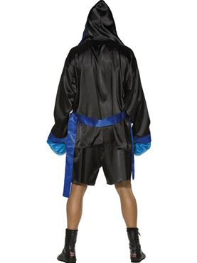Adult Fever Sexy Boxer Costume - Side View