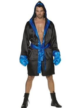 Adult Fever Sexy Boxer Costume Couples Costume