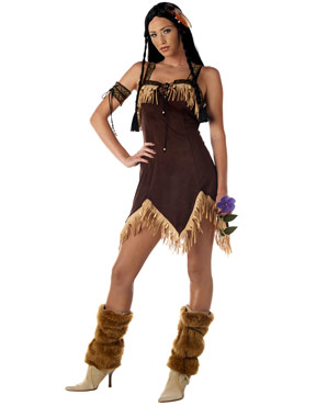 Adult Sexy Indian Princess Costume