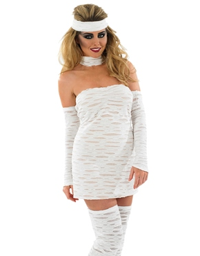 Adult Sexy Mummy Costume - Back View