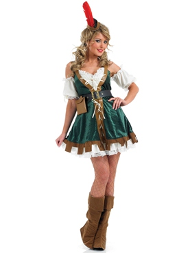 Adult Sexy Robin Hood Costume Thumbnail