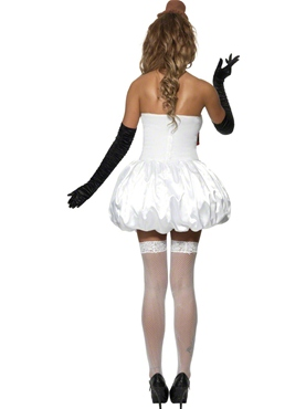 Adult Sexy Snowman Costume - Side View
