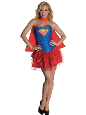 Adult Sexy Supergirl Tutu Costume Thumbnail