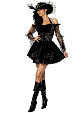 Adult Fever Sexy Swashbuckler Costume