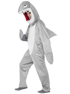 Adult Shark Costume Couples Costume