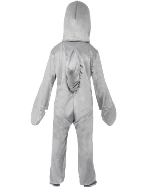 Adult Shark Costume - Side View