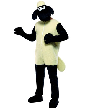 Adult Shaun the Sheep Costume Couples Costume