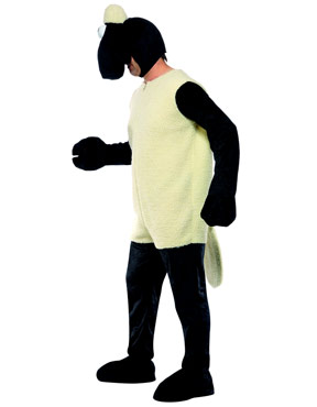 Adult Shaun the Sheep Costume - Side View