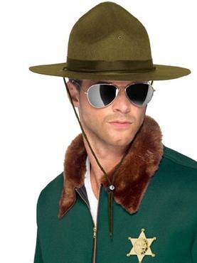 Sheriff Hat Green