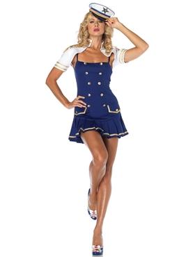 Adult Ship Shape Captain Sailor Costume