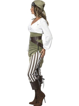 Adult Shipmate Sweetie Costume - Back View