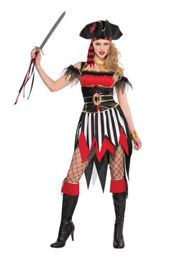 Shipwreck Beauty Pirate Costume Couples Costume