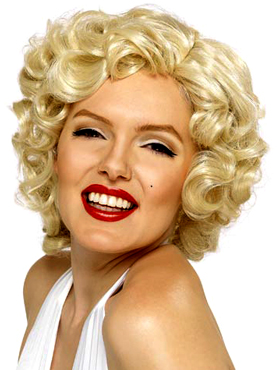 Short Marilyn Monroe Wig Blonde