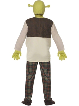 Adult Shrek Costume - Side View