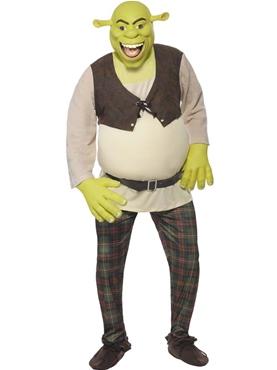 Adult Shrek Costume - Side View
