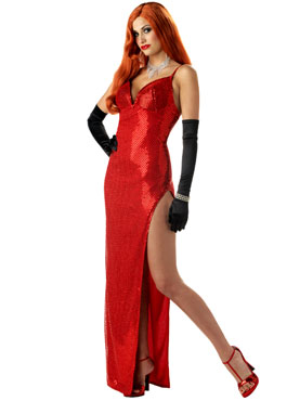Adult Silver Screen Sensation Costume
