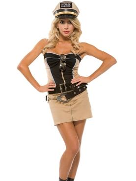 Adult Sizzlin' Sheriff Costume