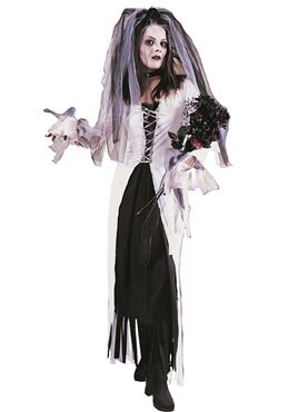 Adult Skeleton Bride Costume