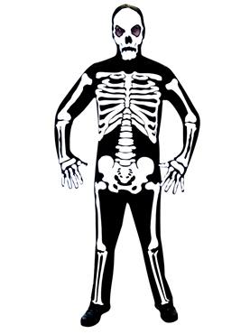 Skeleton Jumpsuit Costume Thumbnail