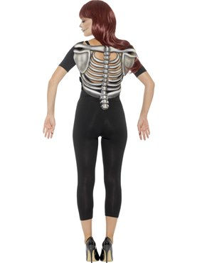 Skeleton Rib Cage Top - Side View