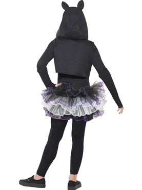 Child Skelly Cat Costume - Side View