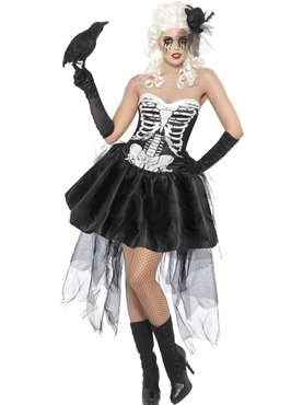 Adult Skelly Von Trap Costume