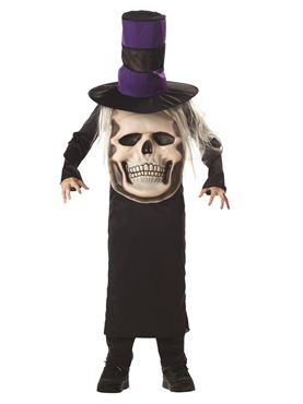 Child Skull Mad Hatter Costume