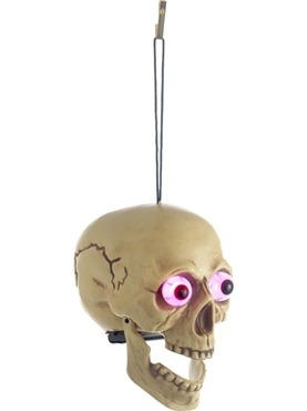 Light Up Skull Halloween Decoration