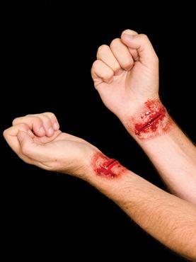 Slashed Wrist Latex Appliance