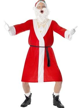 Adult Sleazy Santa Costume