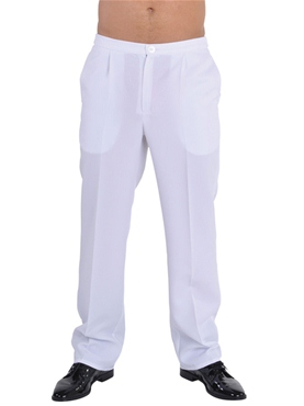 Smart White Trousers