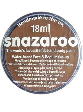 Snazaroo Beige Brown Face & Body Paint