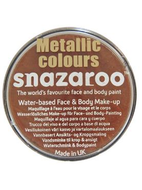 Snazaroo Metallic Copper Face & Body Paint