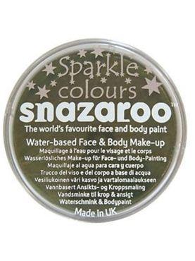 Snazaroo Sparkle Green Face & Body Paint