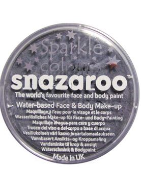 Snazaroo Sparkle Gun Metal Grey Face & Body Paint