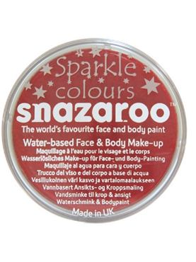 Snazaroo Sparkle Red Face & Body Paint