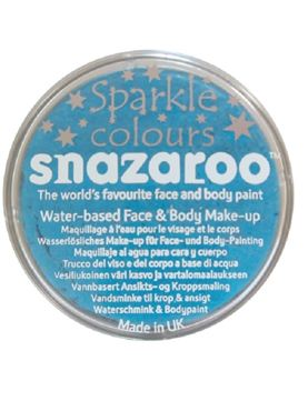 Snazaroo Sparkle Turquoise Face & Body Paint