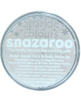 Snazaroo Sparkle White Face & Body Paint