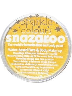 Snazaroo Sparkle Yellow Face & Body Paint