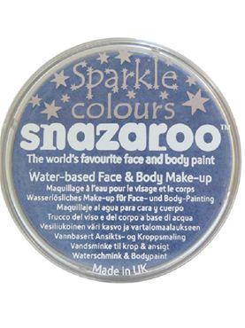 Snazaroo Sparkle Blue Face & Body Paint