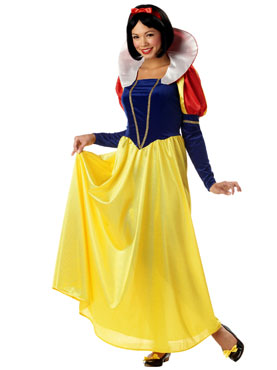 Adult Fairytale Snow Costume