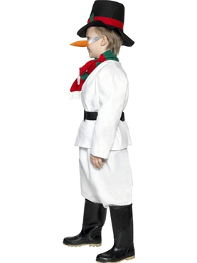 Child Snowman Costume - Side View