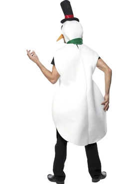 Adult Snowman Costume - Side View