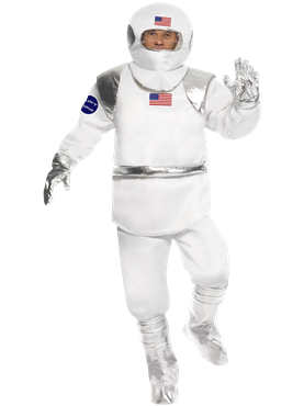 Adult Spaceman Costume Couples Costume