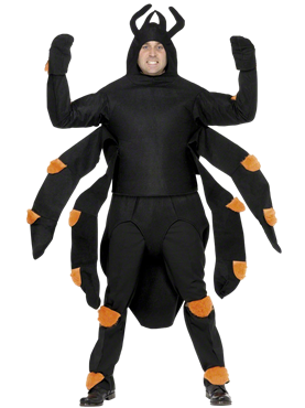 Adult Spider Costume Couples Costume