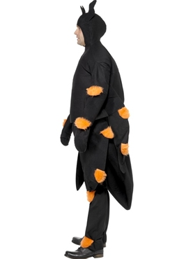 Adult Spider Costume - Back View