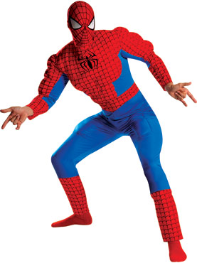 Spiderman Deluxe Muscle Costume